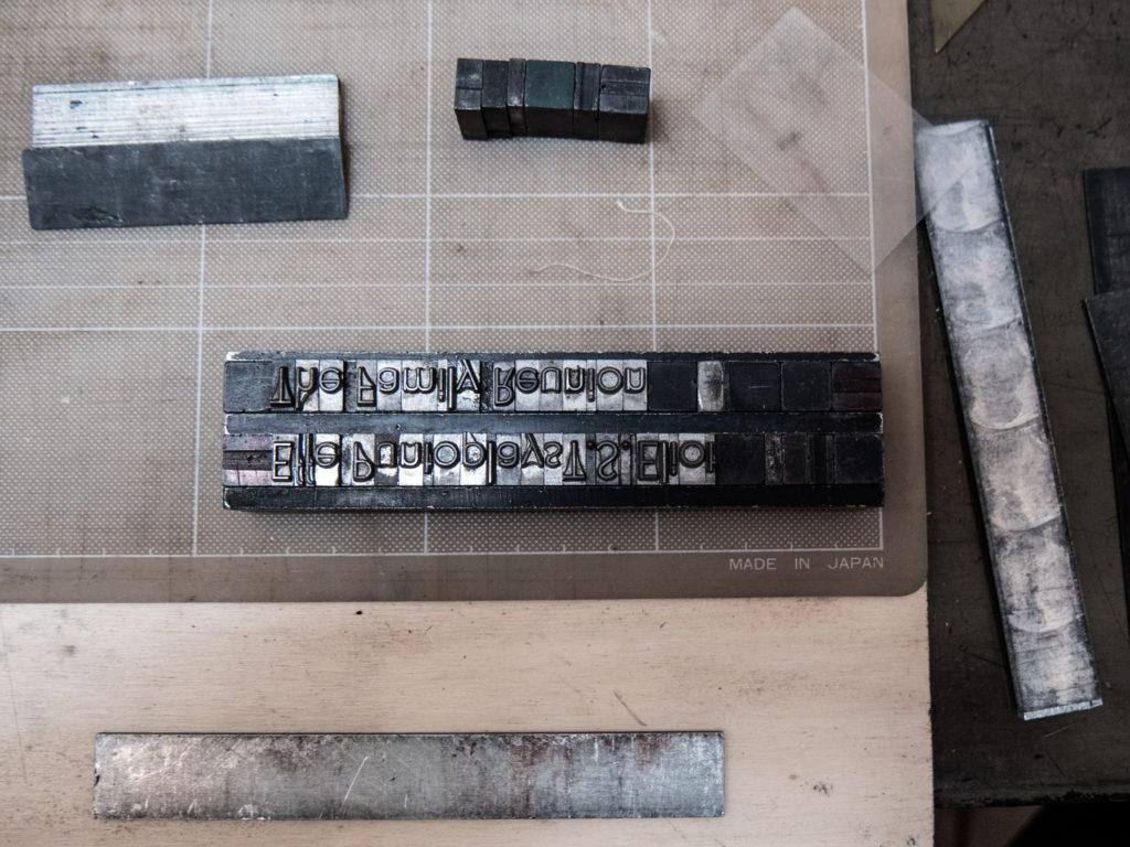 Stampa con caratteri mobili